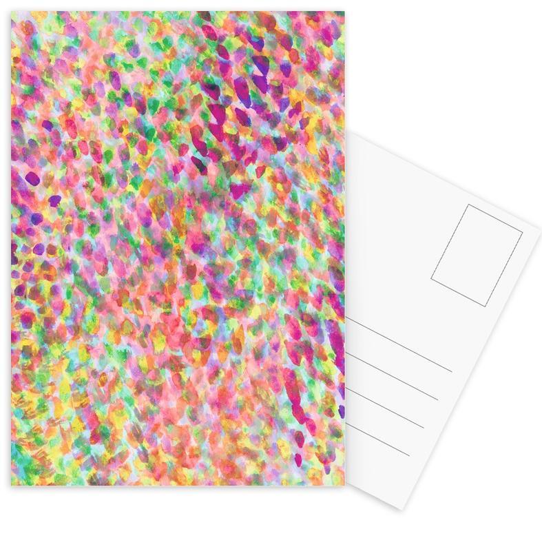 Patterns, Mist Rose Postcard Set