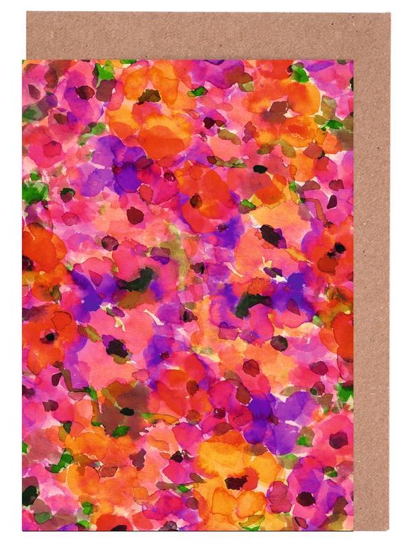 Fleur Rouge -Grußkarten-Set