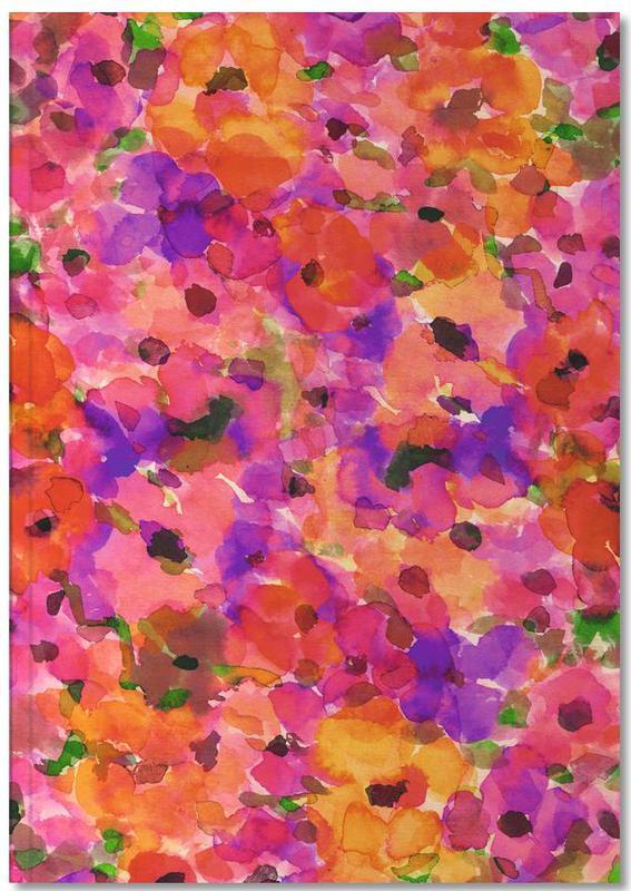 Fleur Rouge Notebook