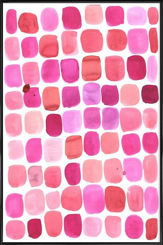 Lipstick -Bild mit Kunststoffrahmen