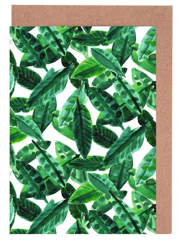 Small Palm Leaves -Grußkarten-Set