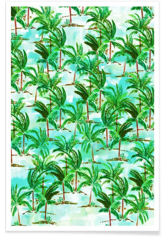Palms, Palm Tree Poster