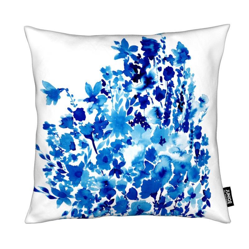, Floral Blue