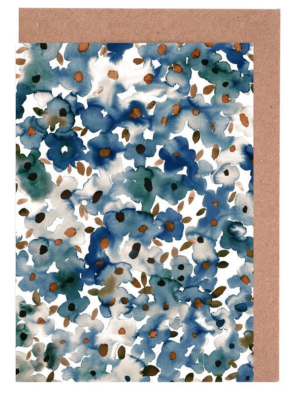Georgia Floral -Grußkarten-Set