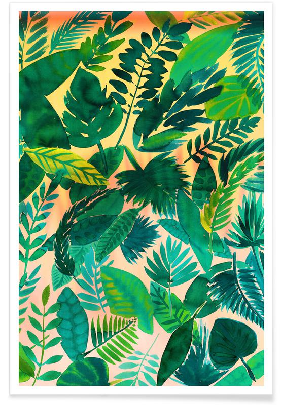 Leaves & Plants, Jungle Leaf Poster