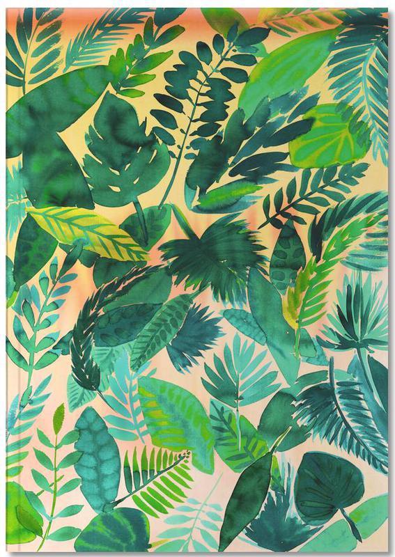 Feuilles & Plantes, Jungle Leaf Notebook