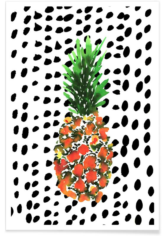 Ananas, Pineapple affiche