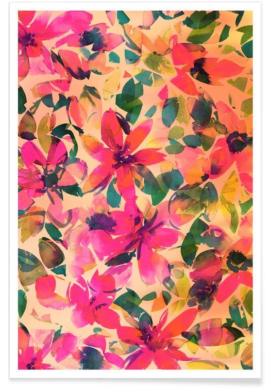 , Helena Floral poster