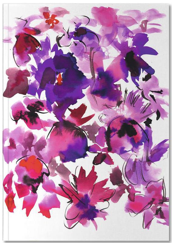 Sara Pink Floral Notebook