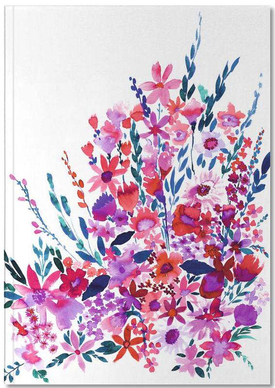 Scarlett Floral Notebook