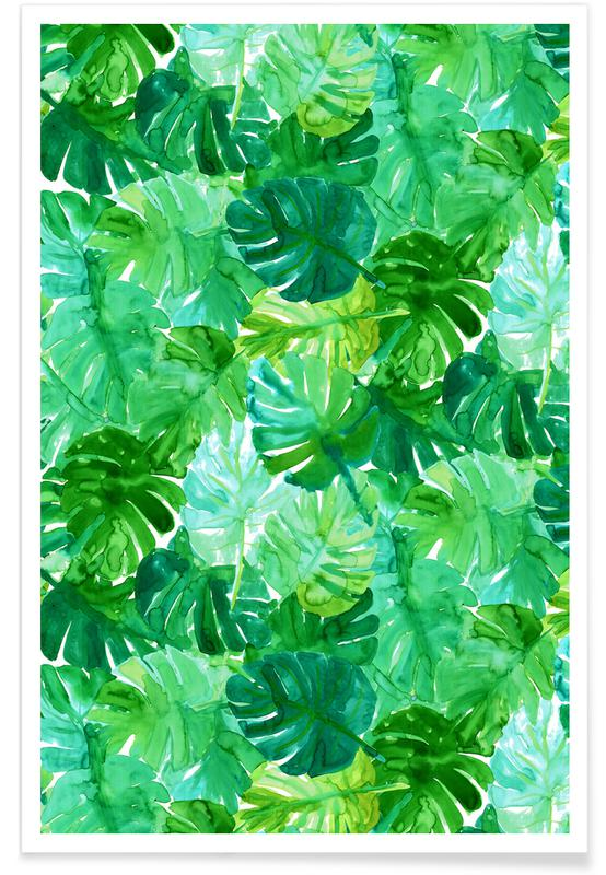 Leaves & Plants, Welcome to the Jungle Poster