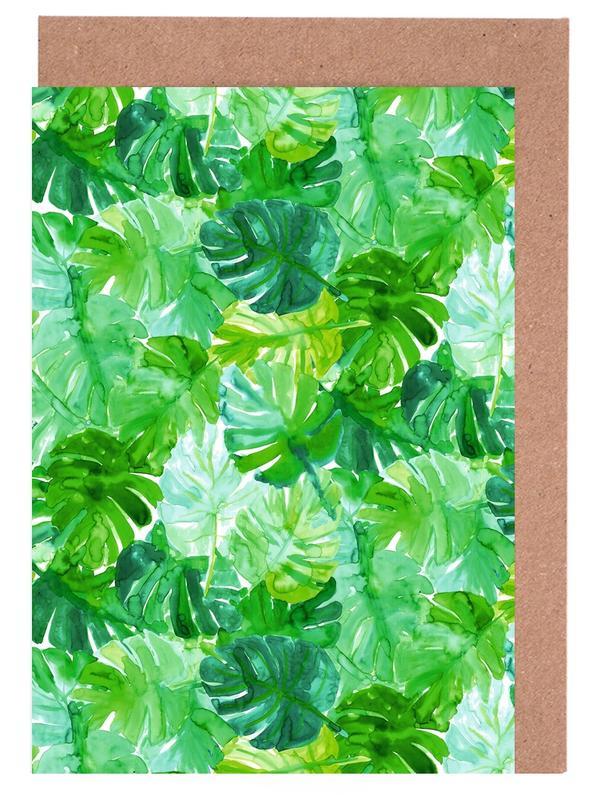 Blätter & Pflanzen, Welcome to the Jungle -Grußkarten-Set