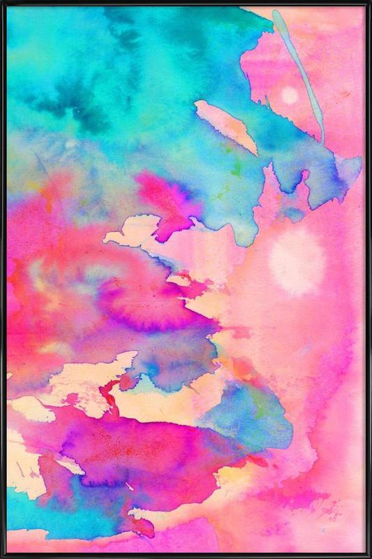 Dawn Light -Bild mit Kunststoffrahmen