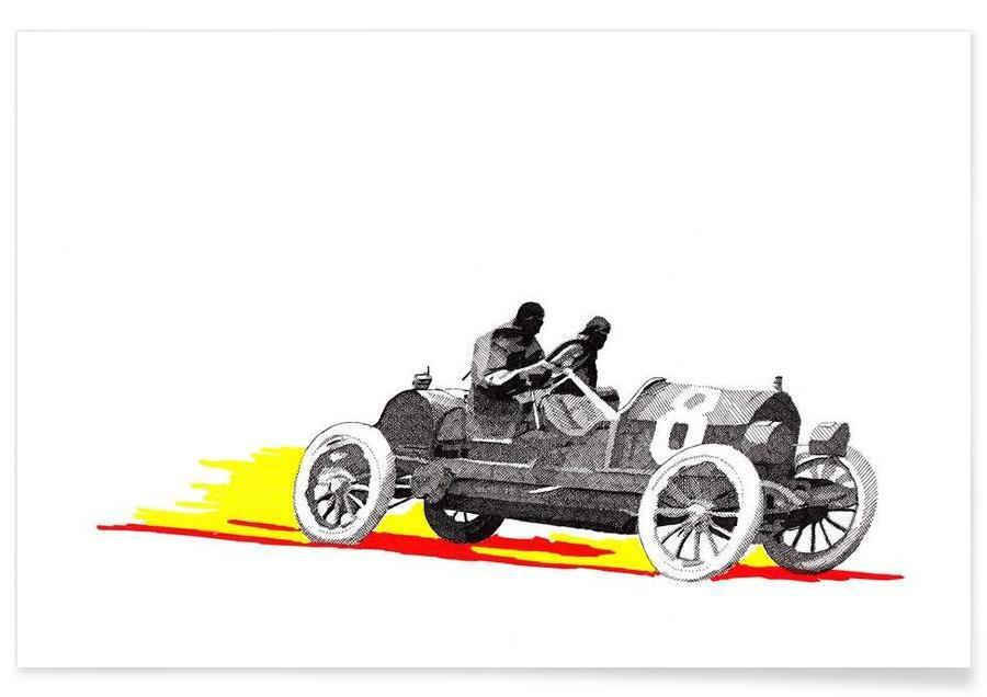Autos, Classic Car Race 8 -Poster