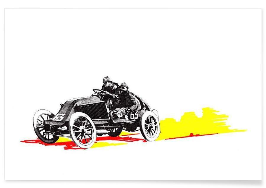 Autos, Classic Car Race 63 -Poster