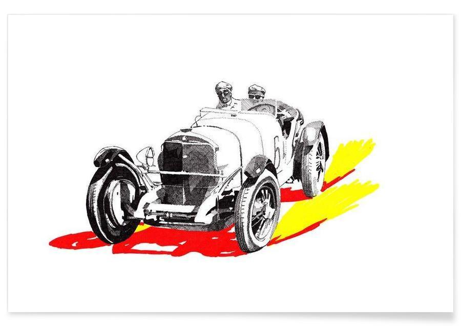 Classic Car Race 6 -Poster