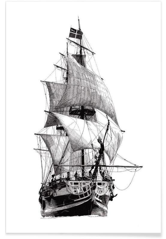 Boten, Grand Turk poster