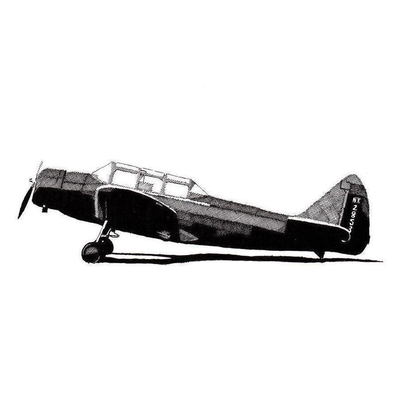 Fairchild M-62B canvas doek