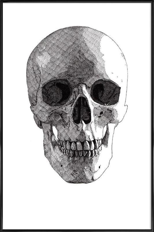 Skull 1 Framed Poster