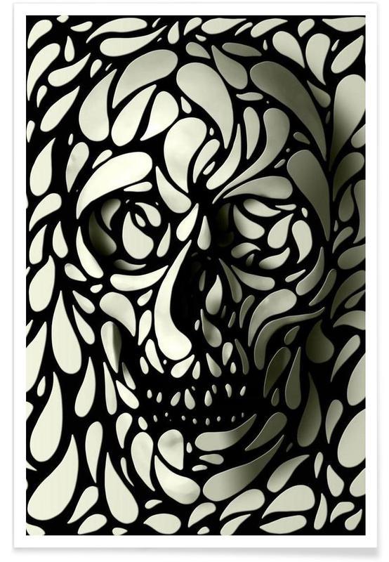 Crânes, Skull IV affiche