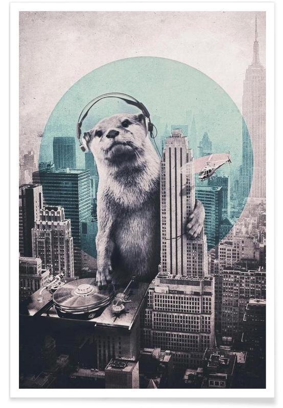 , DJ -Poster