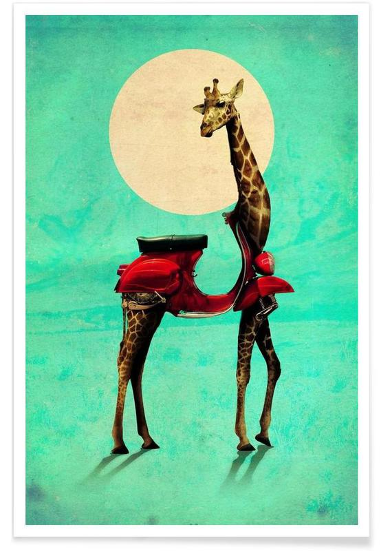 Créatures et hybrides, Giraffe affiche