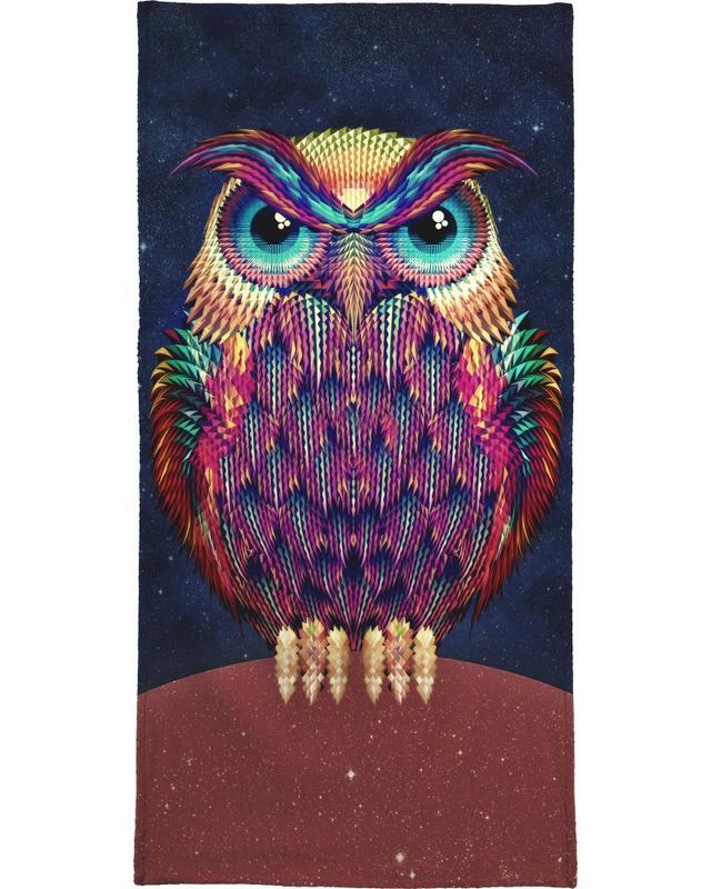 Owl 2 -Handtuch