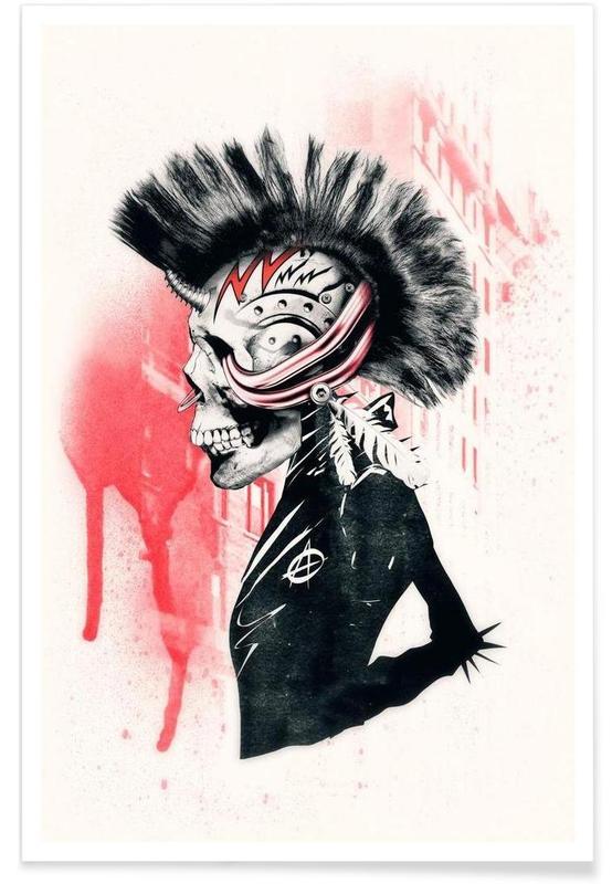 Crânes, Punk affiche