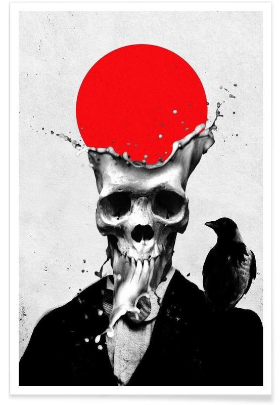 Totenköpfe, Splash Skull -Poster