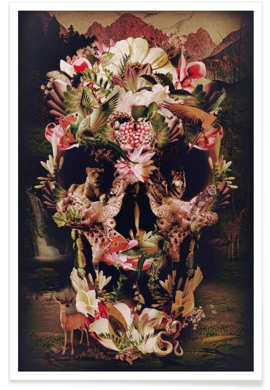 Jungle Skull poster