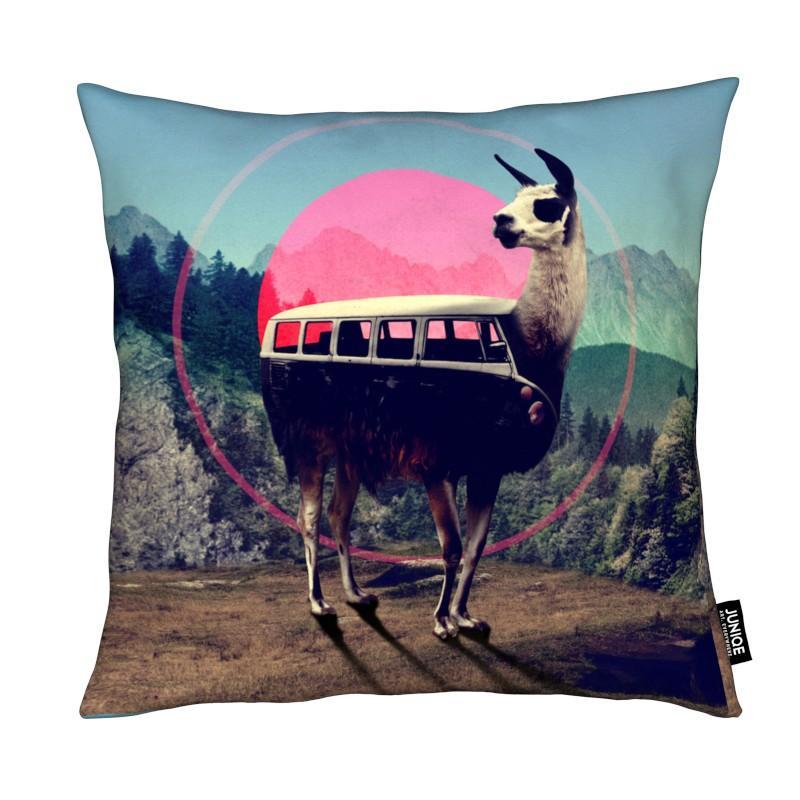 Lamas, Llama coussin