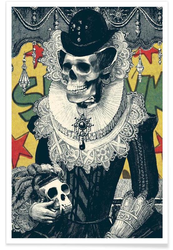 Crânes, Lady affiche