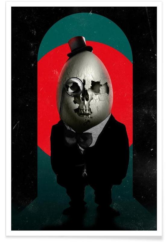 Créatures et hybrides, Humpty Dumpty affiche