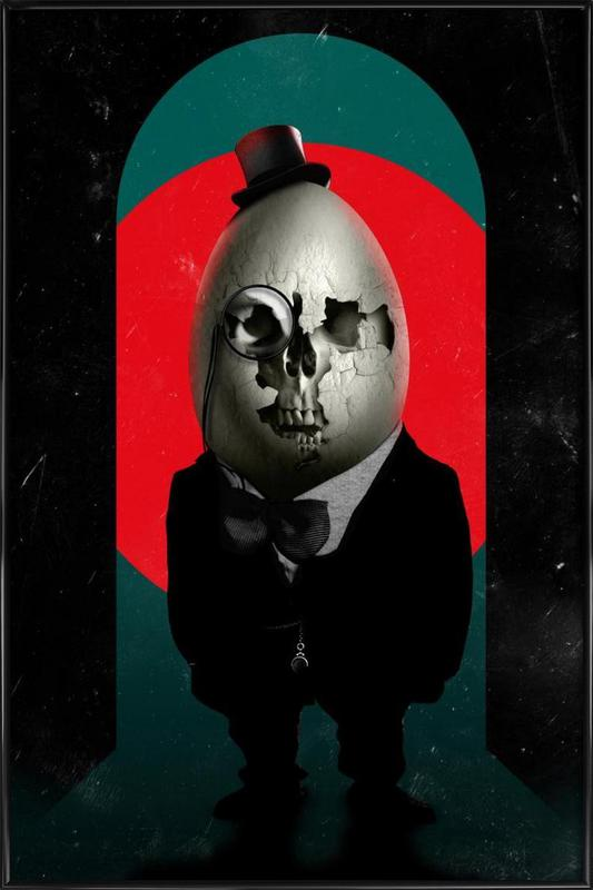 Humpty Dumpty Framed Poster