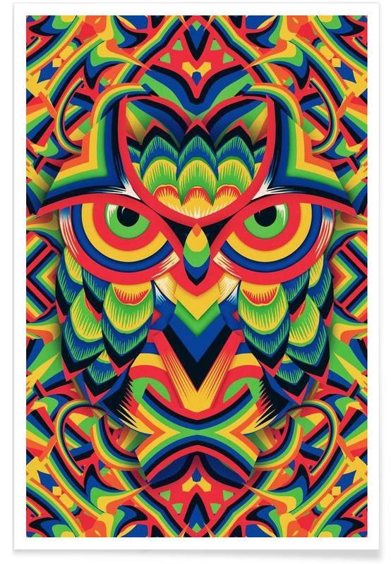 Chouettes, Owl 3 affiche