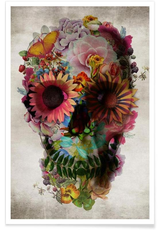 Totenköpfe, Skull II -Poster