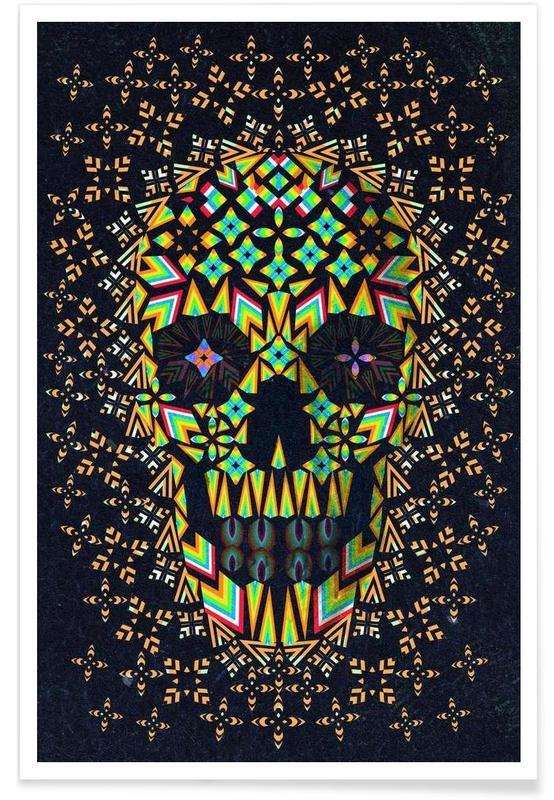 Skull 6 -Poster