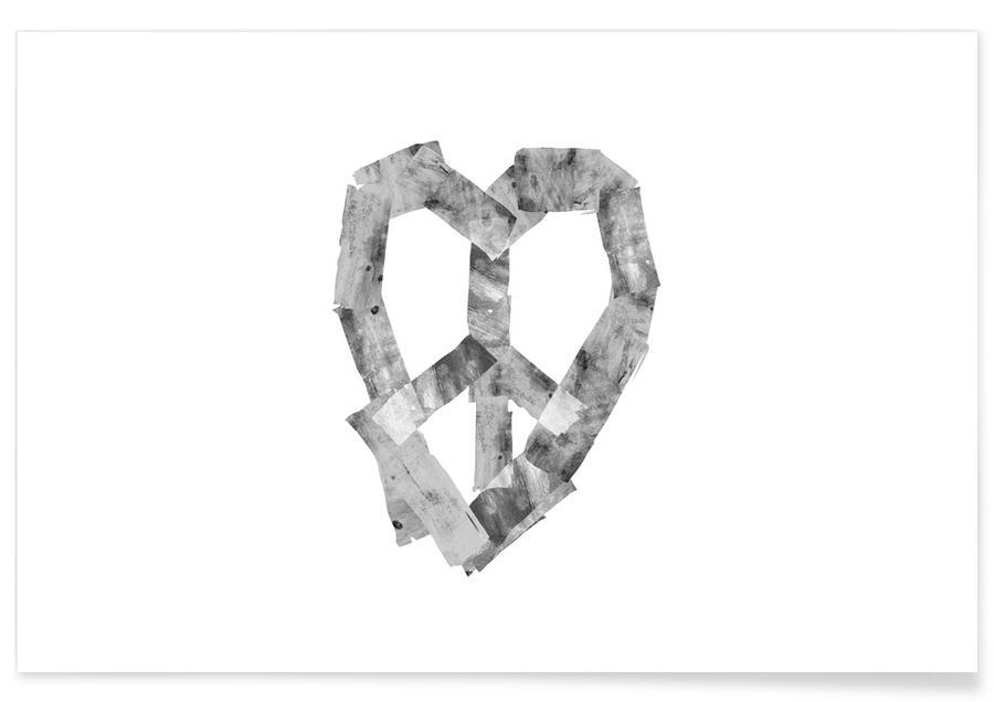 Harten, Peace Heart poster