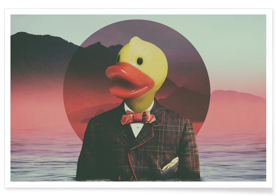 Créatures et hybrides, Canards, Pop Art, Rubber Ducky affiche