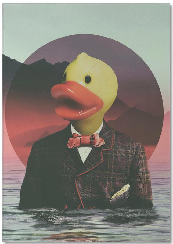 Eenden, Popart, Wezens en kruisingen, Rubber Ducky notitieblok