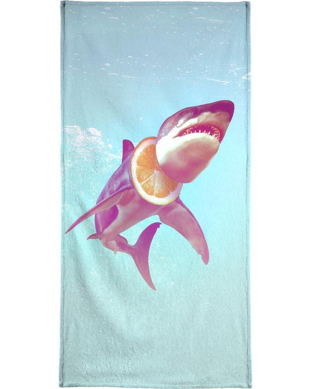 Lemon Shark Beach Towel
