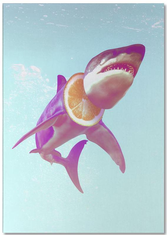 Grappig, Haaien, Lemon Shark notitieblok
