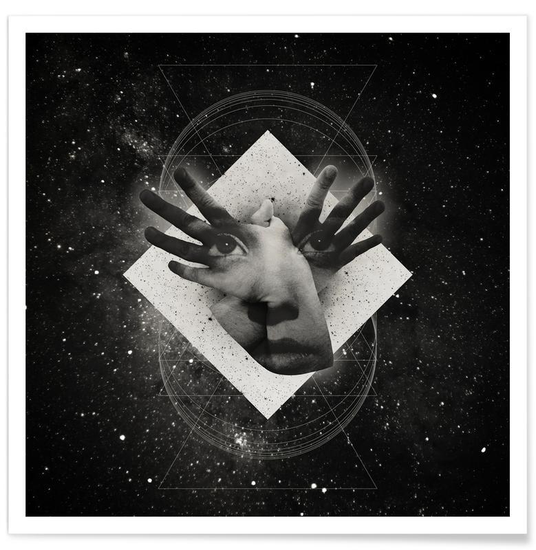 Zwart en wit, Mask poster