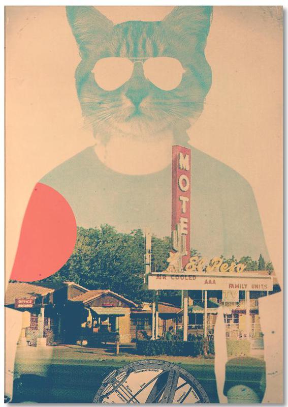 Wezens en kruisingen, Cool Cat notitieblok