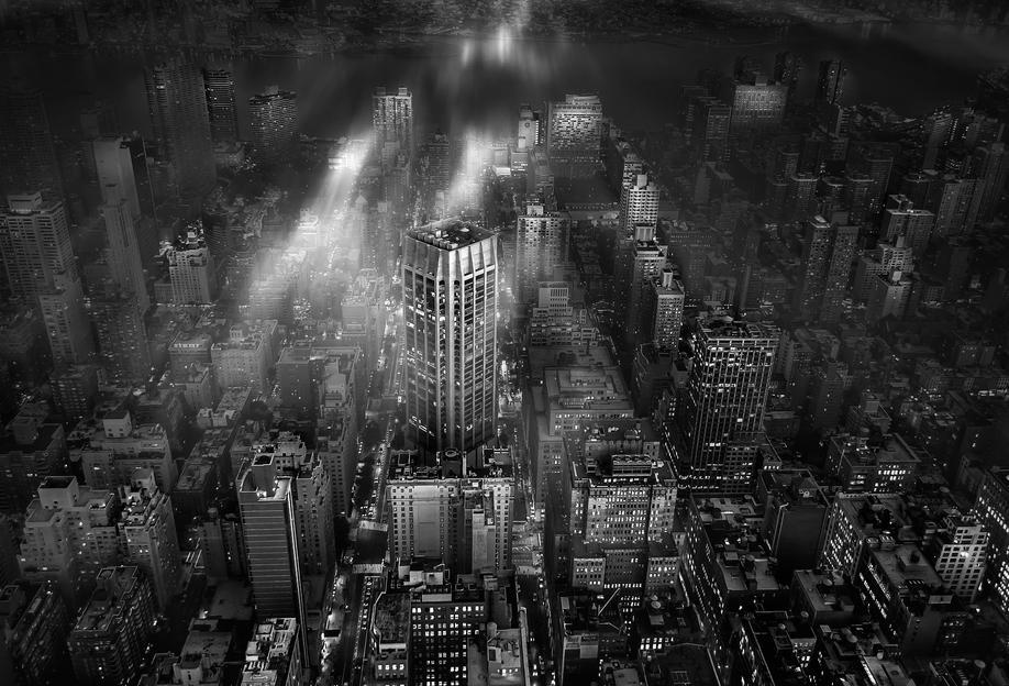New York City - Leif Løndal -Acrylglasbild