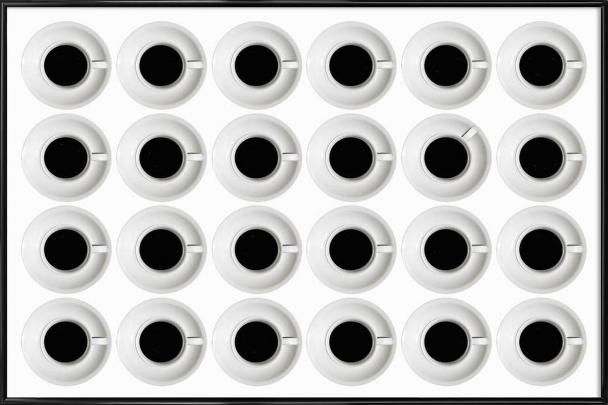 Cups - Stefan Eisele Framed Poster