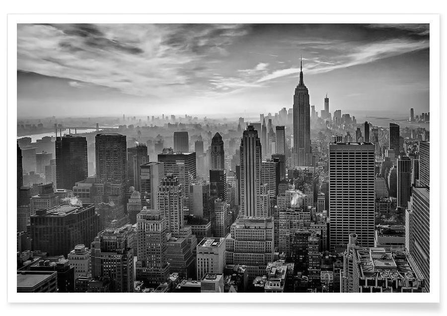 Hazy Gotham - Stefan Schilbe affiche