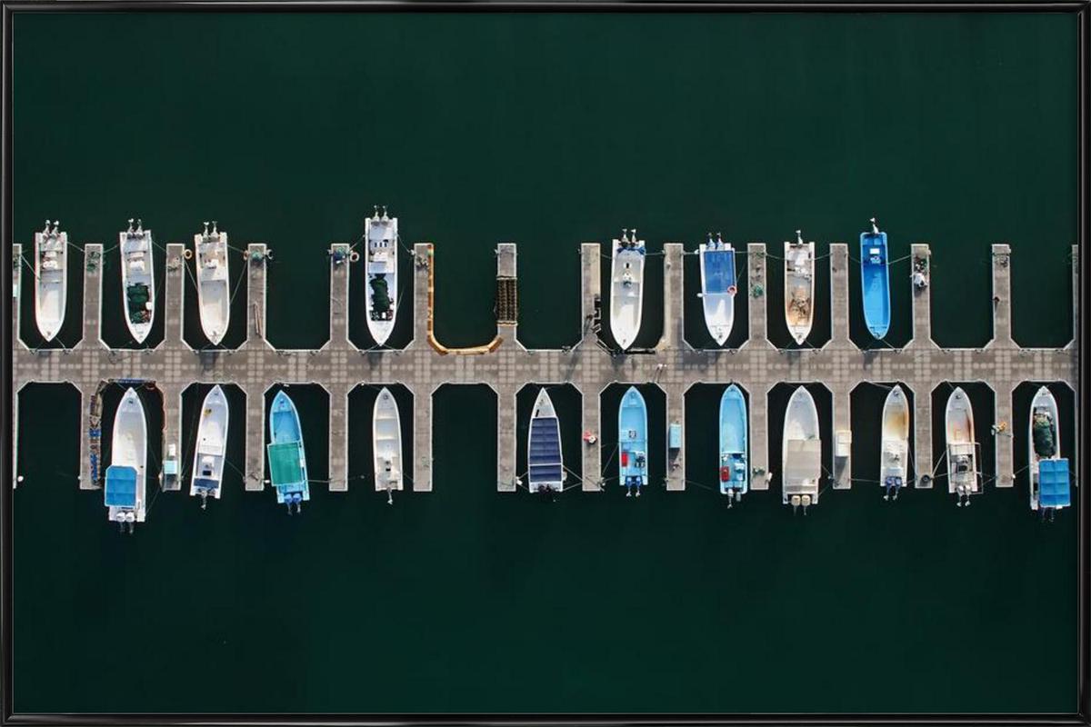 Vertical Alignment - Shoayb Hesham Khattab -Bild mit Kunststoffrahmen