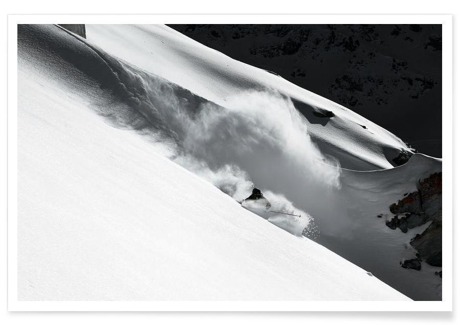 Cloud of Snow - Jakob Sanne -Poster