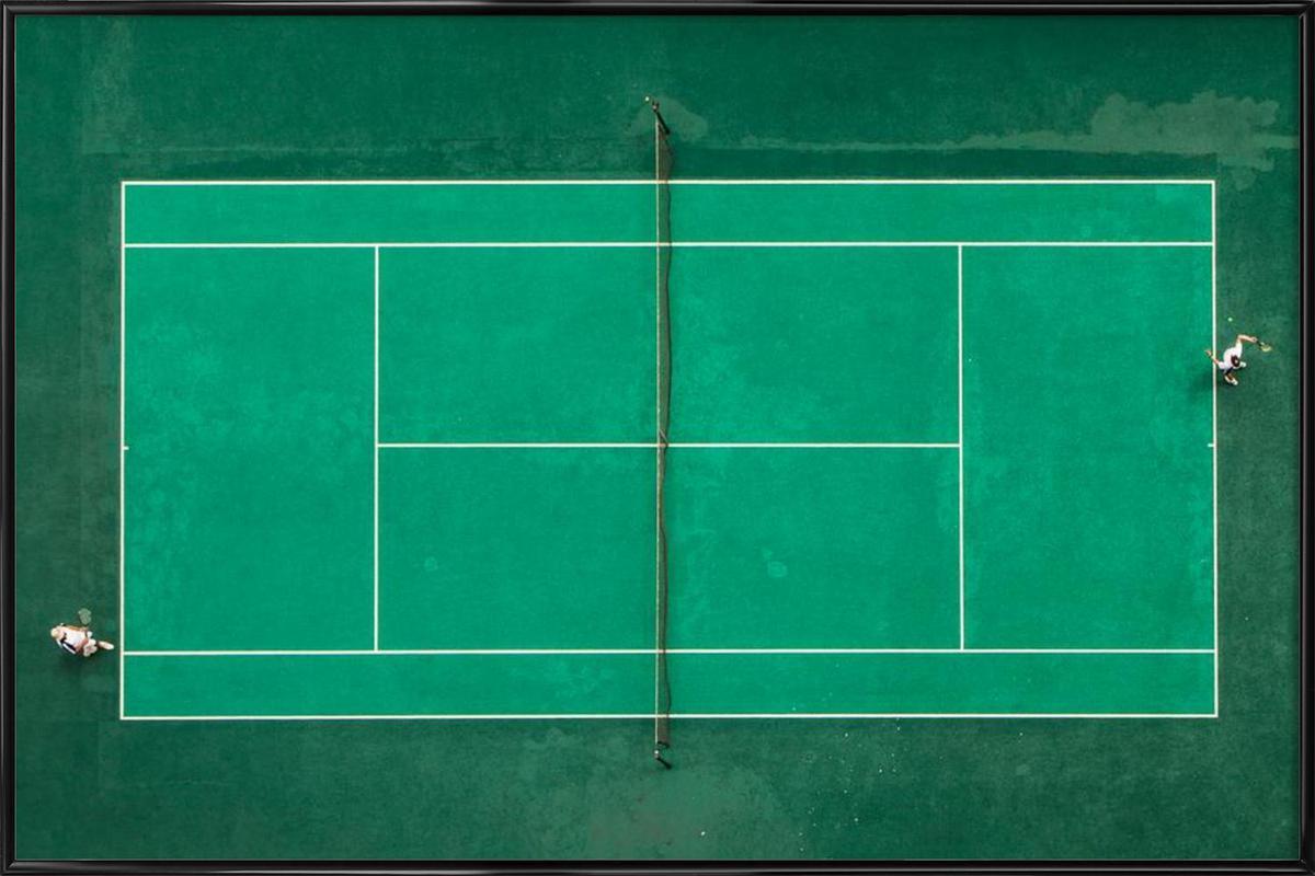 Game! Set! Match! - Fegari affiche encadrée